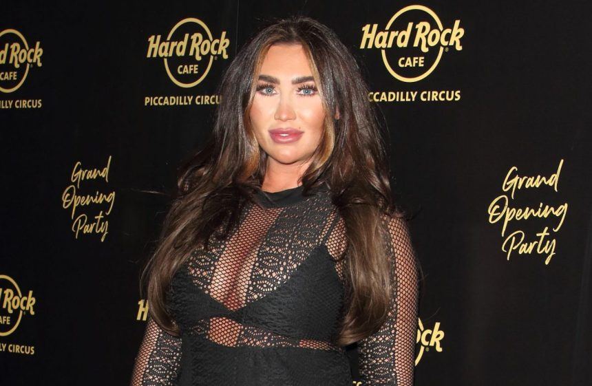 Mandatory Credit: Photo by Keith Mayhew/SOPA Images/REX (10413494ac) Lauren Goodger Hard Rock Cafe Piccadilly Circus launch party, London, UK - 12 Sep 2019