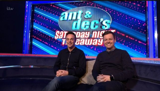 Mandatory Credit: Photo by ITV/REX (10589026au) Anthony McPartlin, Declan Donnelly 'This Morning' TV show, London, UK - 20 Mar 2020
