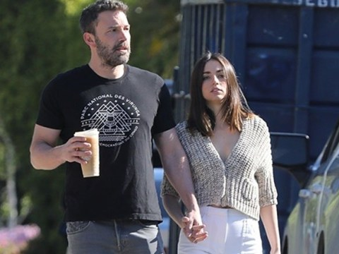 Ben Affleck and Ana de Armas ignore social distancing advice as they pack on PDA