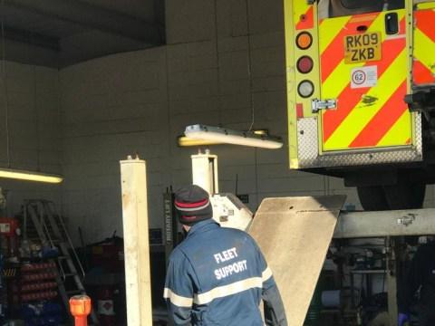 Vandals drill holes in six ambulances amid coronavirus pandemic