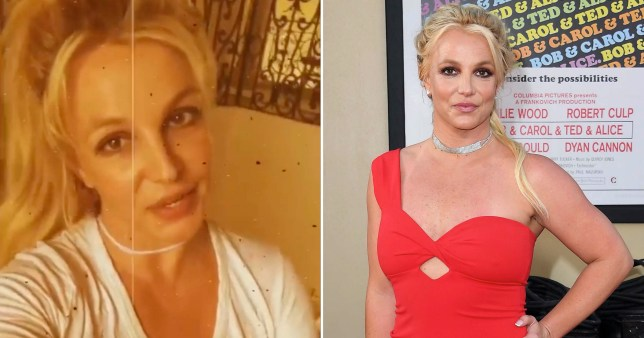Britney Spears encouraging fans to message her for support during coronavirus crisis