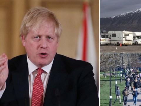 Boris promises to 'get tougher' if people don't follow coronavirus rules
