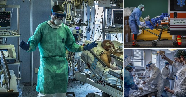 Italian doctor tells of shocking situation in his hospital Pictures: Backgrid/AP/Rex