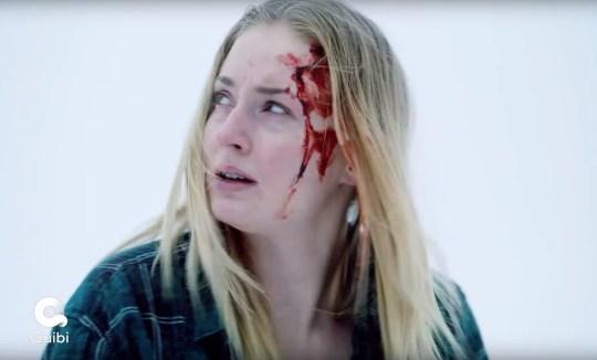 Image: Bande-annonce Quibi pour le nouveau spectacle Quibi de Sophie Turner, survivre