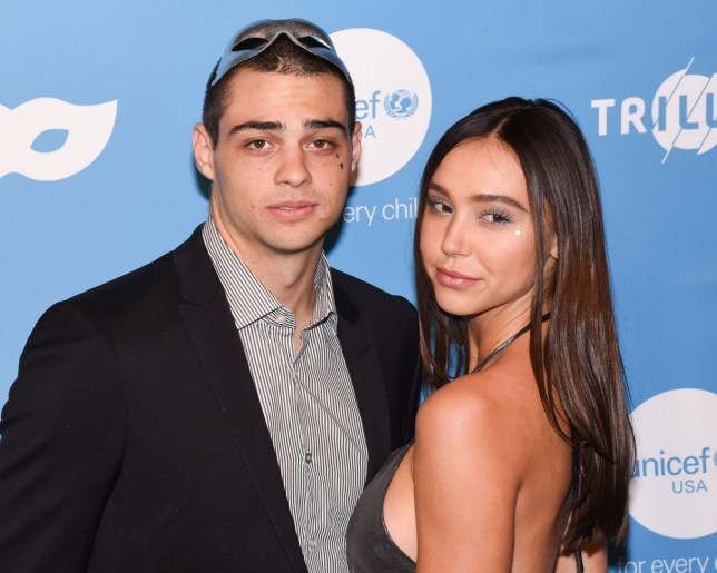 Mandatory Credit: Photo by MediaPunch/REX (10457858o) Noah Centineo, Alexis Ren UNICEF Masquerade Ball, Los Angeles, USA - 26 Oct 2019