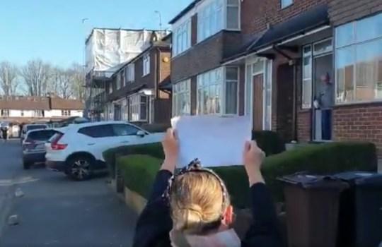 METROGRAB EastEnders Lorraine Stanley shares birthday surprise for elderly neighbour @loustar76