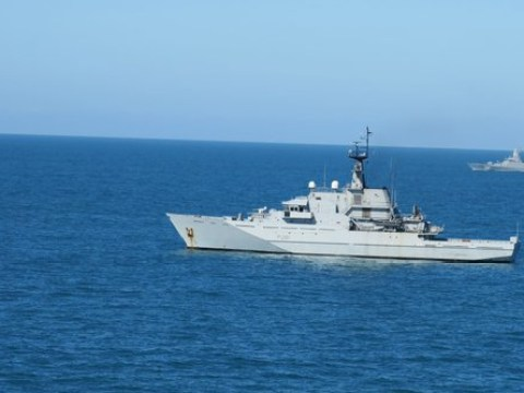 Russian warships being tracked in Channel and North Sea by Royal Navy