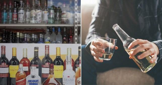 Alcohol is not helping the coronavirus crisis Pics: Getty