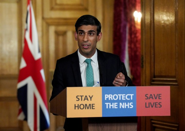 26/03/2020. London, United Kingdom. Chancellor Rishi Sunak holds a digital Covid-19 Press Conference with Deputy Chief Medical Officer, Dr Jenny Harries in 10 Downing Street. Picture by Pippa Fowles / No 10 Downing Street.