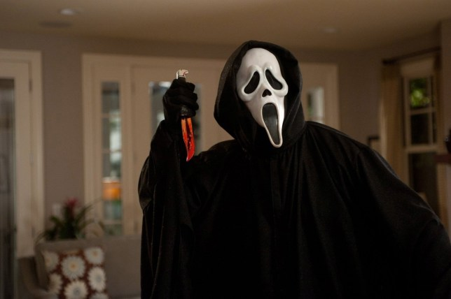 Editorial use only. No book cover usage. Mandatory Credit: Photo by Dimension Films/Kobal/REX (5884862r) Scream 4 (2011) Scream 4 - 2011 Director: Wes Craven Dimension Films USA Scene Still Horror