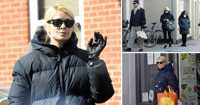 holly willoughby shopping
