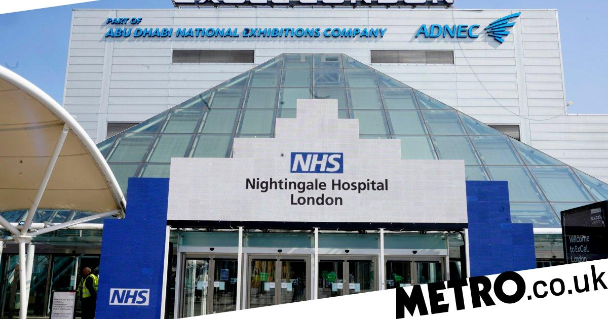 How does the largest hospital in the world compare to the NHS Nightingale?