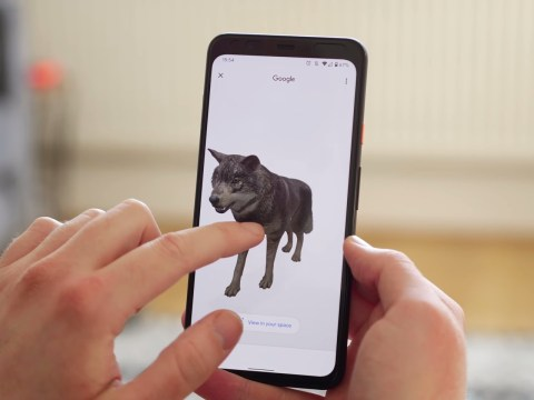 Worked your way through the Google 3D animals list? Try out these other free AR apps