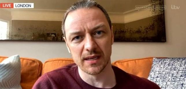 Good Morning Britain James MacAvoy