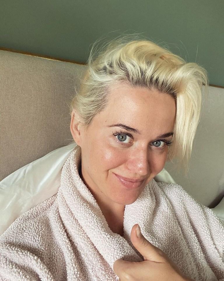 Cheveux de Katy Perry