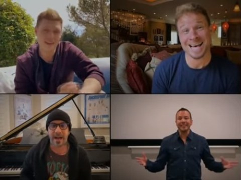 Backstreet Boys give us reunion we deserve with self-isolation living room concert
