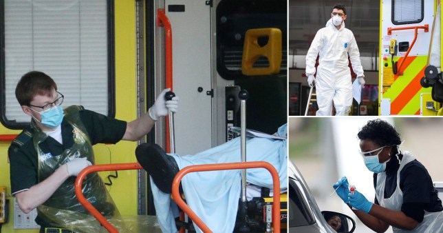Uk's true death toll to be revealed today Pictures: PA/Reuters