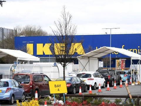 Ikea Wembley store turns into mass-coronavirus testing centre for NHS staff