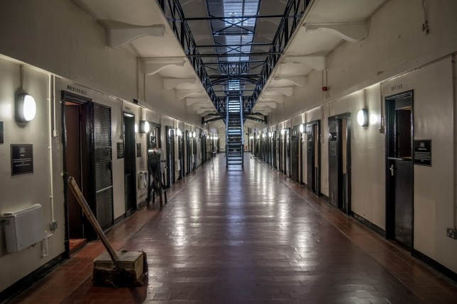 Belfast, Northern Ireland/United Kingdom - 28-11-2016 - HMP Belfast, Crumlin Road Gaol jail. The building has a listed building status because of it's architectural and historical significance.; Shutterstock ID 529543903; Purchase Order: -