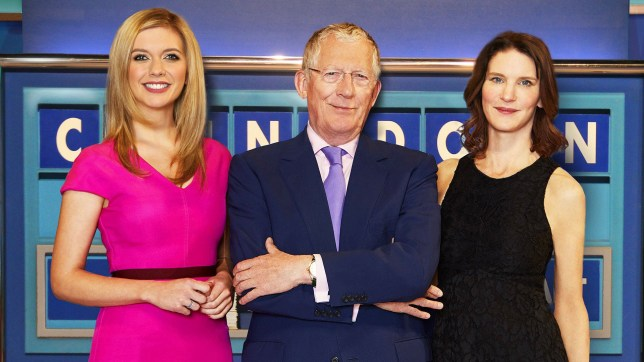 Countdown: Rachel Riley, Nick Hewer and Susie Dent Copyright: Channel 4
