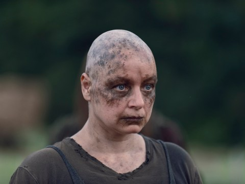 The Walking Dead's Samantha Morton 'in trouble' after shaving off hair and eyebrows for Alpha