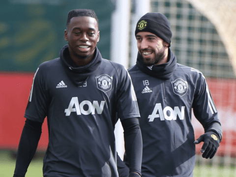The advice Bruno Fernandes gave Aaron Wan-Bissaka after his first Manchester United training session