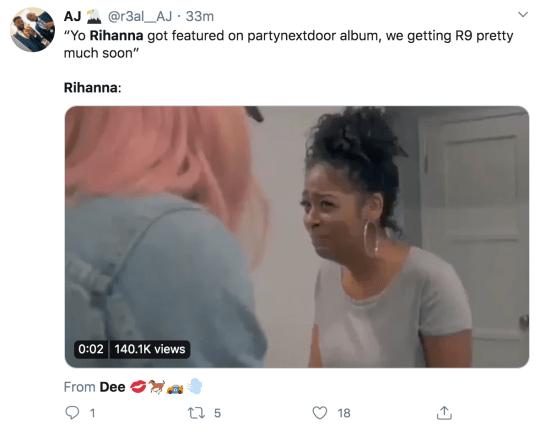 Rihanna Believe It Twitter reaction