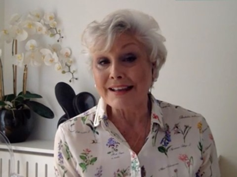 Angela Rippon shuts down rumours she has coronavirus and debunks over-70s having to stay inside amid self-isolation