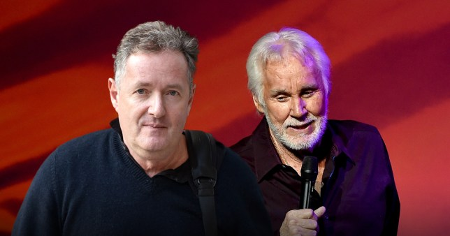 Piers Morgan leads tributes to Kenny Rogers
