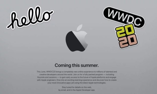 This year's WWDC will be an online-only event (Apple)