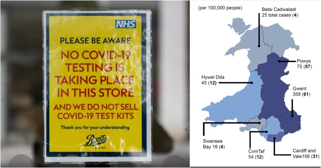 Wales on verge of coronavirus collapse similar to Italy region where health system has been overwhelmed