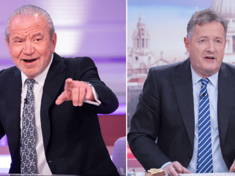 Alan Sugar urges Piers Morgan to drop out of Good Morning Britain and self-isolate after coming into contact with Susanna Reid