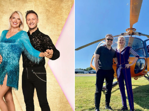Anneka Rice pays tribute to Kevin Clifton as he quits Strictly Come Dancing – and teases some big news