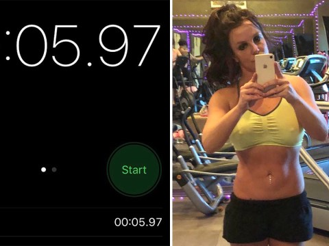 Britney Spears claims to have run 100m in half the time of Usain Bolt's world record
