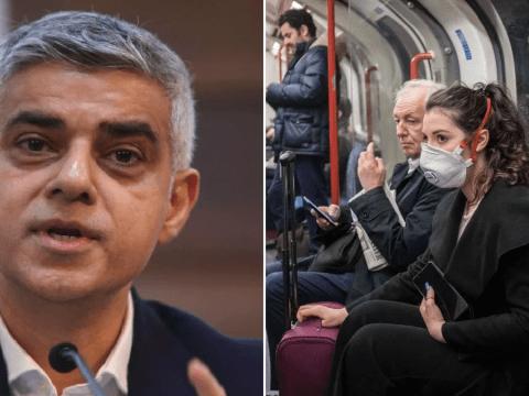 'No risk' of catching coronavirus on the Tube, says Sadiq Khan