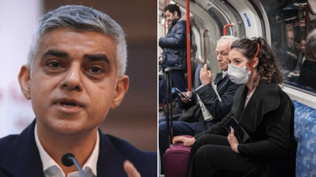 Sadiq Khan has said there is 'no risk' in using the Tube amid the coronavirus outbreak