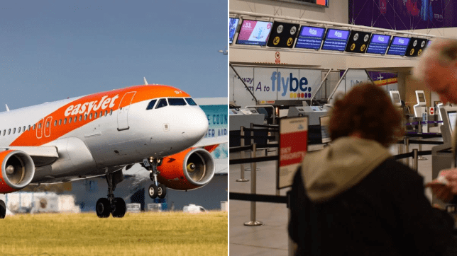 flybe easyjet collapse