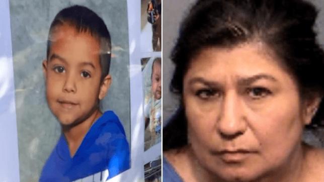 Picture of DeShaun Martinez next to mugshot of Ann Marie Martinez