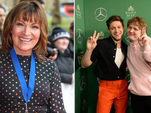 Lorraine Kelly vows to 'drink Lewis Capaldi and Niall Horan under the table' on night out post-coronavirus