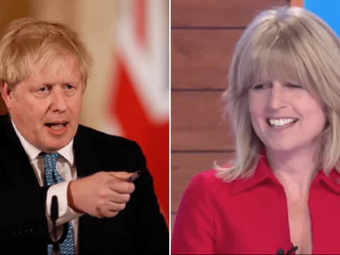 Rachel Johnson snaps at Christine Lampard during awkward Loose Women stint: 'I'm not here to talk about Boris'