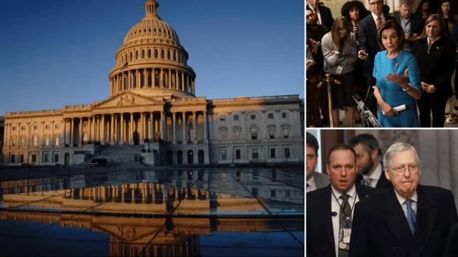 Congress, McConnell, Pelosi