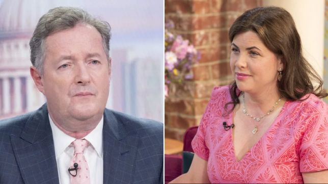 Piers Morgan and Kirstie Allsopp