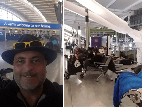 Homeless man living at Heathrow Airport still has nowhere to go