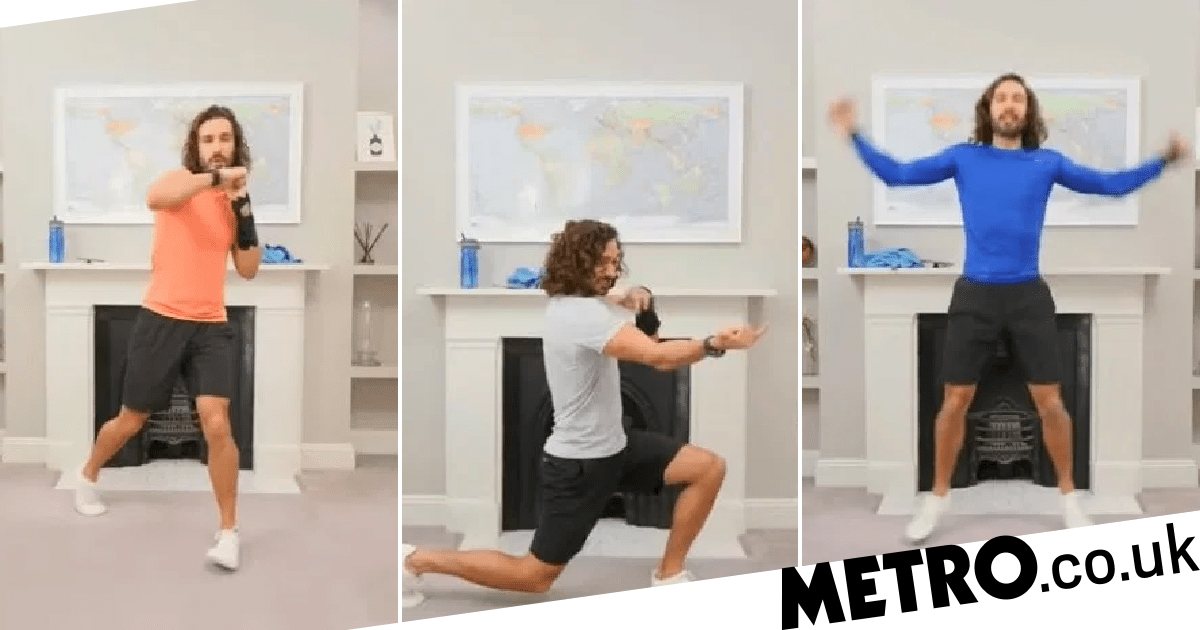 Top 10 sweaty moves from Joe Wicks' YouTube workout series so far