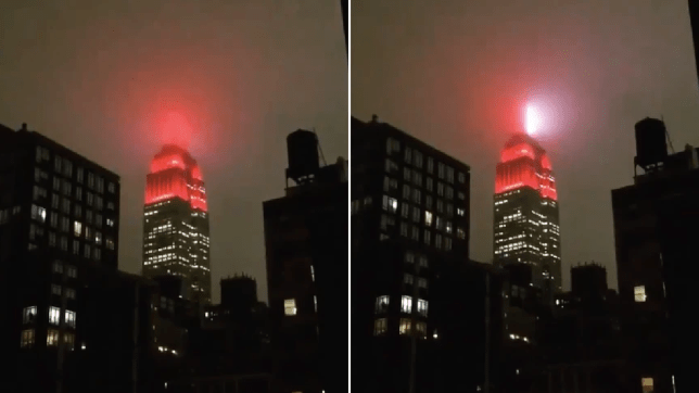 Grabs of Empire State Building 'beacon'