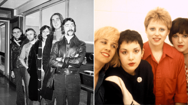 Genesis and the Go-Go's