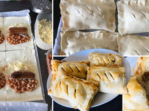 Missing Greggs during lockdown? Make these sausage and bean melts at home for 37p each