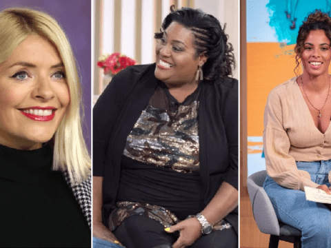 Holly Willoughby and Rochelle Humes make Celebs Go Dating cameo to encourage Alison Hammond to 'rip' her date's clothes off
