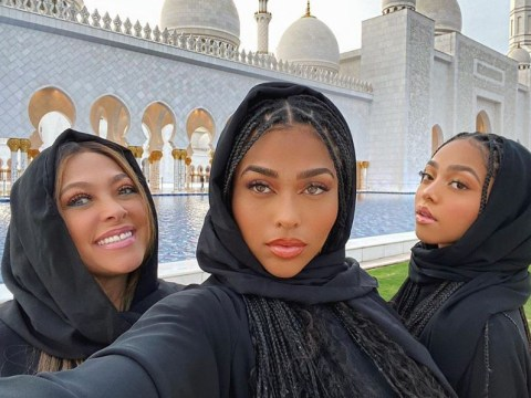 Jordyn Woods apologises after wearing Abaya to mosque in Abu Dhabi: 'I'm sorry if I offended you'