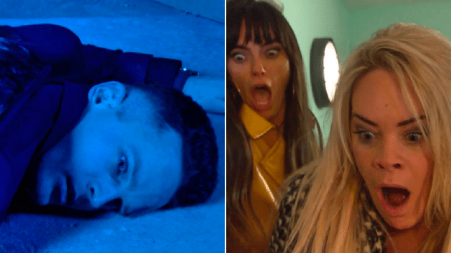 Liam, Grace and Mercedes in Hollyoaks